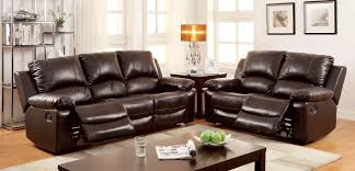 rustic leather living room sets. Furniture Of America Davenport Motion Livingroom Set In Rustic Dark Brown Leather Living Room Sets A