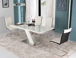modern dining table. Contemporary White Dining Tables Modern Table