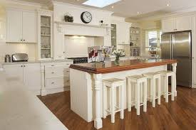 Striking French Country Kitchen Flooring Ideas of Solid Oak Hardwood