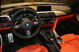 Coupe Series bmw m performance steering wheel : BMW 435i Convertible Gets Orange M Performance Kit, Akrapovic ...