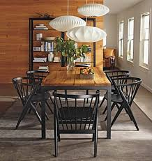 parsons dining table and soren chairs rb modern dining room for awesome house room and board dining room chairs prepare