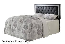 black leather queen or full size headboard steal a sofa furniture los angeles ca