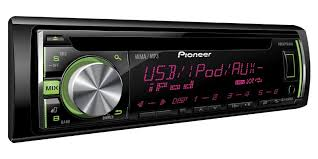 pioneer deh x3600ui single din in dash cd receiver with usb Pioneer Deh X3600ui Wiring Harness pioneer deh x3600ui single din in dash cd car stereo side view pioneer deh-x3600ui wiring harness