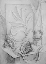 sketching still life 4 by sorina nikoleta