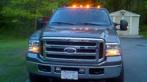 2005 Ford F350 Cab Lights F350 Super Duty Atomic Led Roof Lights And Mirror Mod Youtube