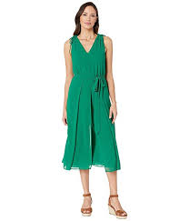 Amazon Com Vince Camuto Womens Cropped Jumpsuit With