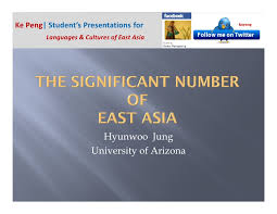 Numbers in asian culture