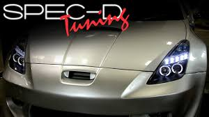 SPECDTUNING INSTALLATION VIDEO: 2000-2005 Toyota Celica Projector ...