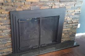 frameless glass fireplace doors. Door Frameless Glass Fireplace Doors