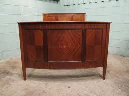 edwardian mahogany bedroom furniture. antique edwardian mahogany bow front inlaid double bed c1900 bedroom furniture