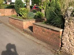 the joy of a brick garden wall