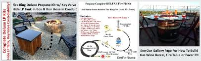 terrific diy natural gas fire pit natural gas outdoor fire pit kits outdoor natural gas fire