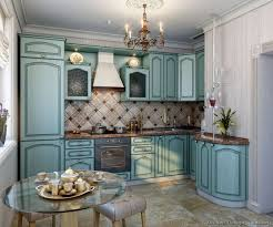 04 more pictures traditional blue kitchen