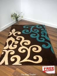 turquoise and brown area rug wool and viscose turquoise beige area rug in brown rugs ideas turquoise and brown area rug