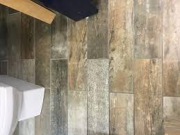 savona grey natural wood effect porcelain wall floor tile 150x600mm