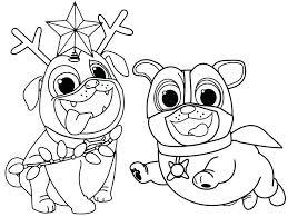 Coloring Sheet Puppy Dog Pals Bltidm