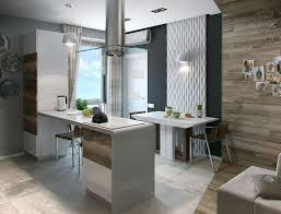 modern reclaimed furniture. modern kitchen with peninsula reclaimed wood accents furniture t