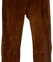 wilsons leather boot cut pants dark brown image 0