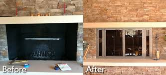 fireplace insert replacement