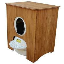 meow town mdf litter box. Concealer Cabinet For Litter Robot, Bamboo-Ply Meow Town Mdf Box