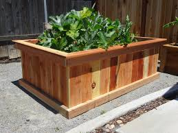 wood cedar raised garden beds outdoor furniture cedar