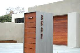modern mailbox dwell. Unique Modern Modern Mailbox With Post Image Of Mailboxes Style Metal  In Modern Mailbox Dwell