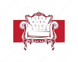 Modern Home Furniture Logo Stock Vector naulicreative 128052552