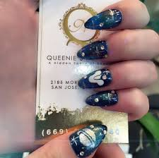 Destiny game theme nail art by Queenie #designbyqueenie - Yelp