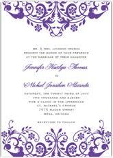 Wedding Invitations Templates Purple Free Printable Dark Purple Wedding Invitation Templates Homemade