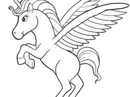 18 Pegasus Unicorn Coloring Pages 78 Images About Unicorns On