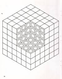Small Picture Diy Optical Illusion Free Printable Coloring Pages Enjoy