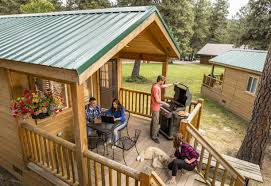 cabin camping in the woods. Try Camping In A Cabin At KOA The Woods