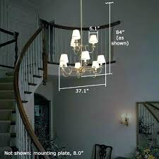 2 story foyer chandelier 2 story foyer chandelier height how to change a 2 story foyer