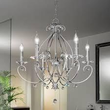 Patriot Lighting Ceiling Fan Parts Carat Chrome Light Crystal Chandelier Lighting Elegant Song