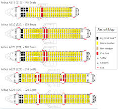 Spirit Airlines Seat Assignment Aircraft Map