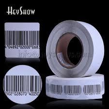 10000x Security 8.2mhz RF <b>Soft</b> Tag Anti Theft <b>EAS</b> Label Retail ...