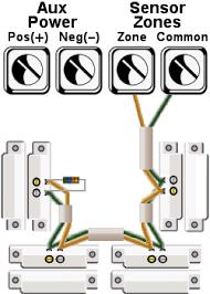 burglar alarm pir wiring diagram wiring diagram and hernes alarm wiring for glbreak sensors