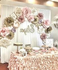 bridal shower decoration ideas centerpiece homemade