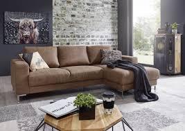 Sofa Wohnlandschaft London Antik Optik Farbe Camel