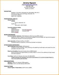 How To Make A Resume With No Job Experience Best Business Template