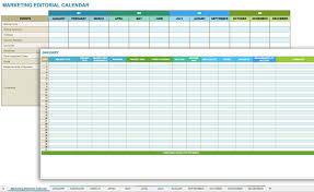 Monthly Calendar Schedule 12 Free Social Media Templates Smartsheet