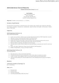 Clerical Resume Templates Magnificent Court Clerk Resume Llun