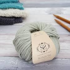 gifts for knitters chunky wool merino yarn 100g