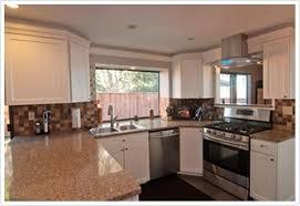kitchens quartzite countertops almond toasted almond msi quartz denver shower doors denver