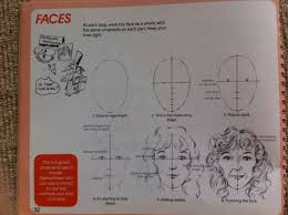 this cl brought back memories of using a the drawing book by john deacon to draw faces when i was young