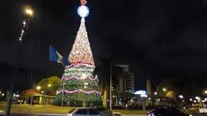 The Gallo Beer Christmas Tree - Guatemala City - YouTube