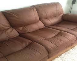clean a suede sofa or armchair