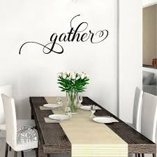gather vinyl wall decal living room