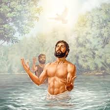 Image result for Jesus baptism pictures