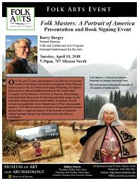 book signing flyer mo folk arts event presentation and book signing by barry bergey